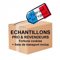 ECHANTILLONS (Pros et Revendeurs) Fortune Cookies et Frais de transport inclus