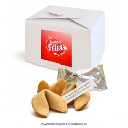 ------- (à partir de) -------- Lot de 15 coffrets contenant 5 biscuits