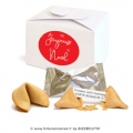 Lot de 5 coffrets Fortune cookies Joyeux Noël