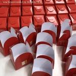 ------- (à partir de) -------- Lot de 15 coffrets personnalisés contenant 5 FORTUNE COOKIES