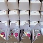 ------- (à partir de) -------- Lot de 15 boîtes-cadeaux personnalisables contenant 2 BISCUITS