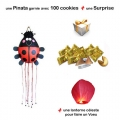1 Piata + 100 fortune cookies + 1 Lanterne
