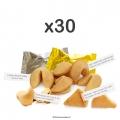 Fortune cookies par 30
