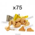 Fortune cookies par 75