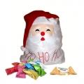 Hotte du Père Noël avec 300 fortune cookies spécial fêtes de Noël