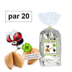 Paquet de 20 fortune cookies