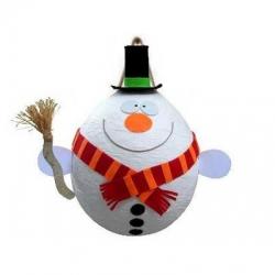 Piñata à ficelles Bonhomme de neige avec 100 fortune cookies