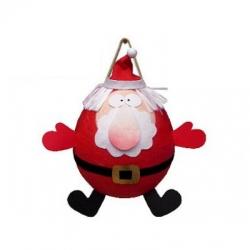 Piñata à ficelles Père Noël avec 100 fortune cookies porte-bonheur