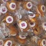 ------- (à partir de) -------- Lot de 100 Fortune cookies avec stickers personnalisés