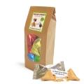 Paquet Kraft de 12 biscuits porte-bonheur