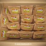 Paquet Kraft de 24 biscuits porte-bonheur