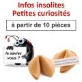 """(à partir de 10) Fortune cookies spécial """"infos insolites"""""""