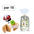 Paquet de 10 fortune cookies
