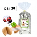 Paquet de 30 fortune cookies