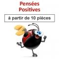 """(à partir de 10) Fortune cookies thème """"pensées positives"""""""