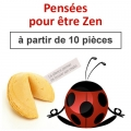 """(à partir de 10) Fortune cookies """"conseils et pensées pour être Zen"""""""