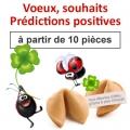 """(à partir de 10) Fortune cookies thème """"souhaits & prédictions"""""""