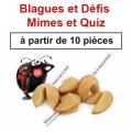 """(à partir de 10) Fortune cookies spécial """"Blagues et Défis"""""""
